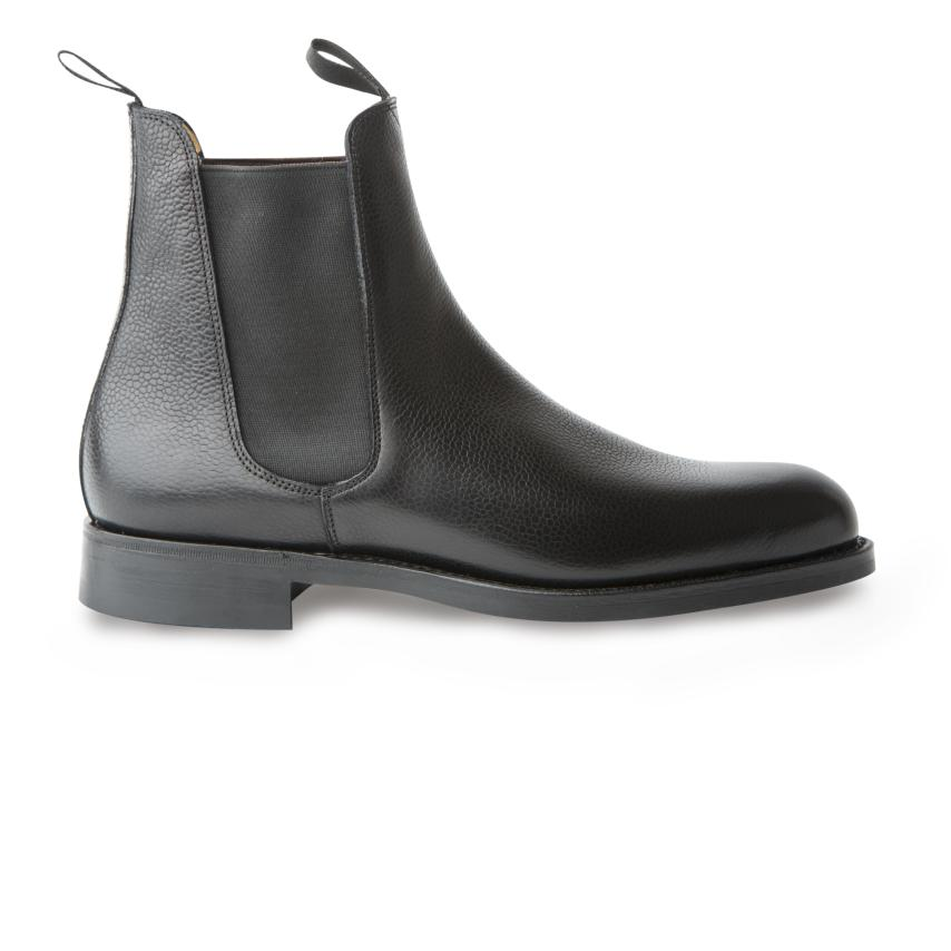 4513c63546 BowTie-Hombre-Zapatos-Classic-Botas Country Calf black Bow Tie