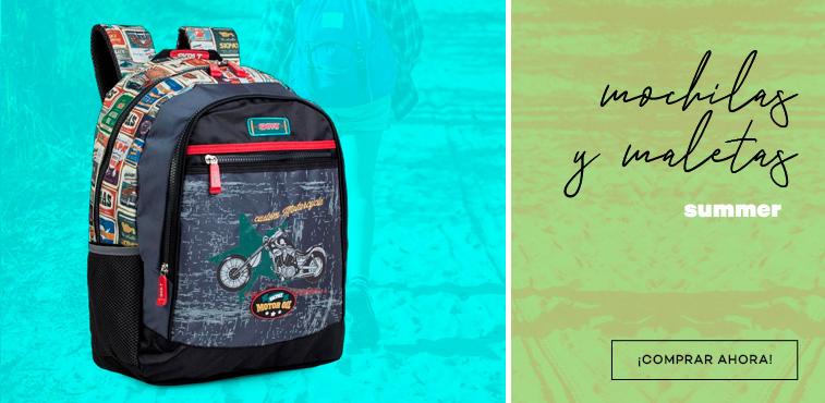 Mochilas y maletas con envío gratis en modalia.com