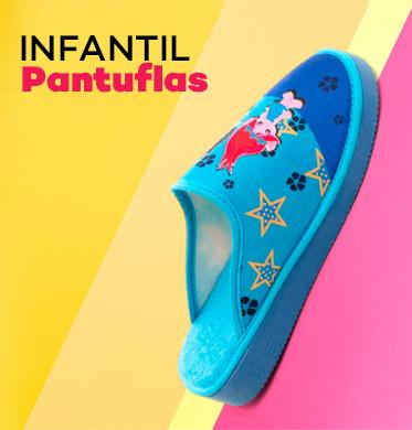 Pantuflas niños con envío gratis en modalia.com