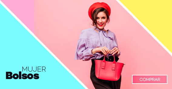 Bolsos para mujer con envío gratis en modalia.com