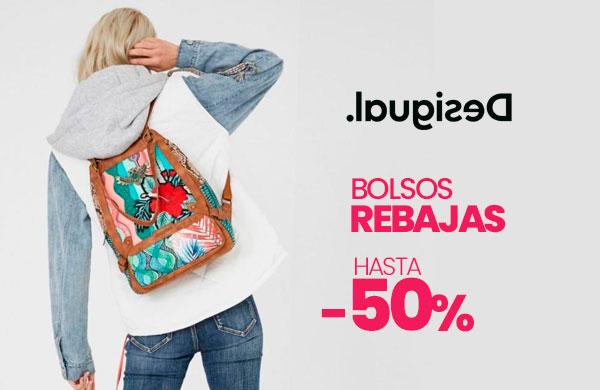 Rebajas en bolsos Desigual con envío gratis en modalia.com
