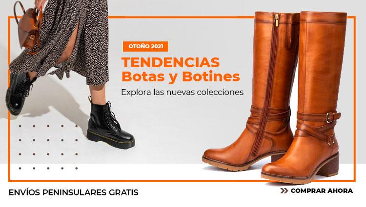 Tendencias en botas y botines Otoño Invierno con envío gratis en modalia.com