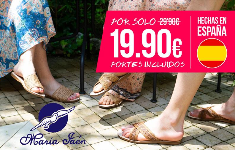 Sandalias de verano con envío gratis en modalia.com