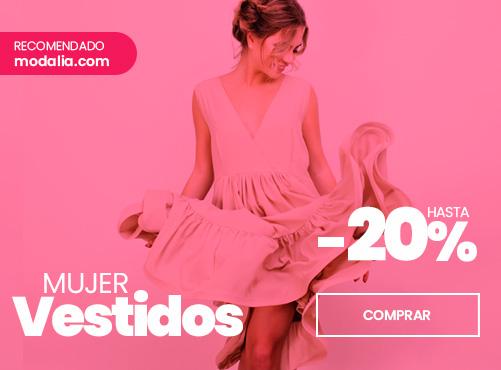 Rebajas en vestidos de verano con envío gratis en modalia.com