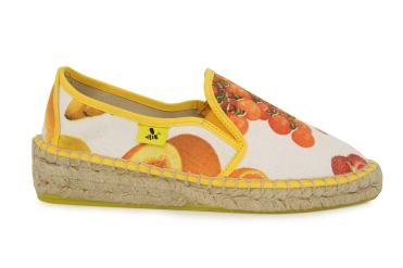 Avispas Slip On Cuña Vitaminas Multicolor