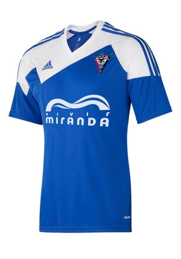 C.d. Mirandes Camiseta Oficial Adidas Azul 1516
