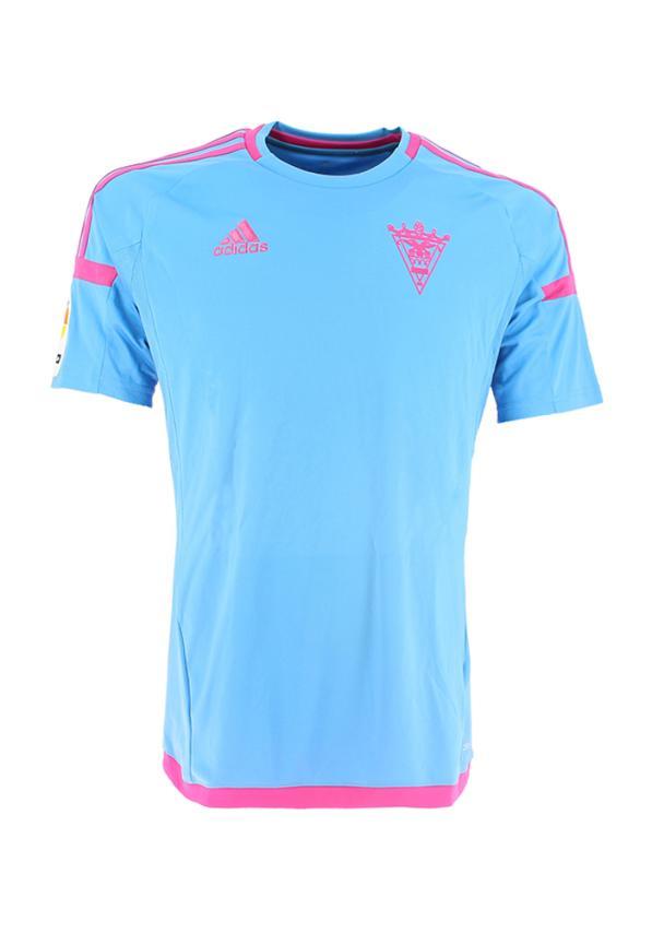 C.d. Mirandes Camiseta Oficial Adidas Celeste 2016/2017