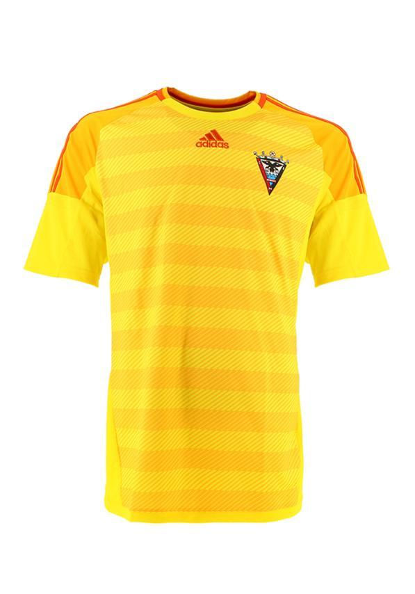 C.d. Mirandes Camiseta.oficial.adidas.portero.amarilla.2016/2017