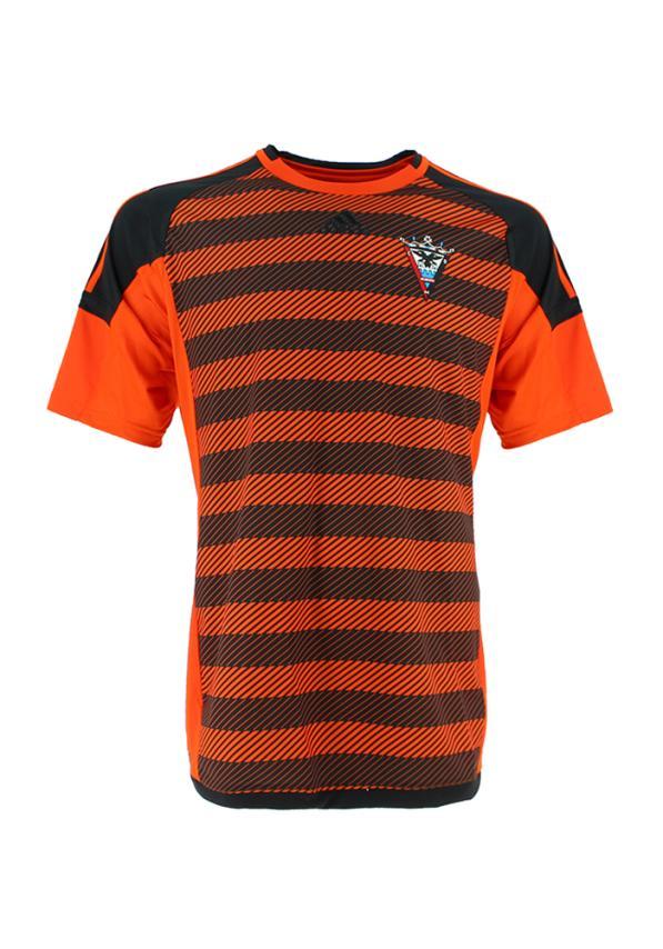 C.d. Mirandes Camiseta Oficial Adidas Portero Naranja 2016/2017