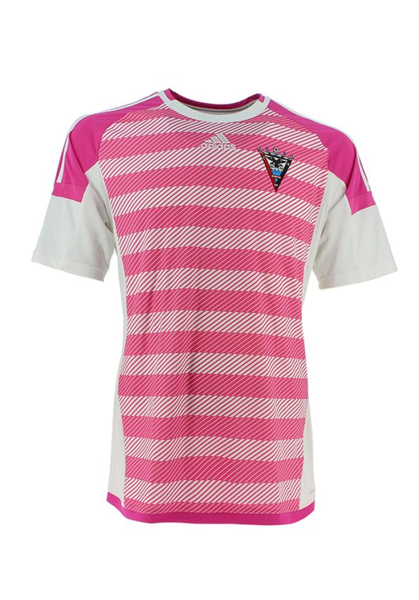 C.d. Mirandes Camiseta Oficial Adidas Portero Rosa 2016/2017