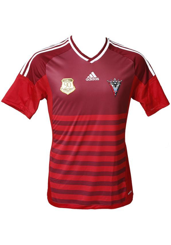 C.d. Mirandes Camiseta Oficial Adidas Roja 2016/2017