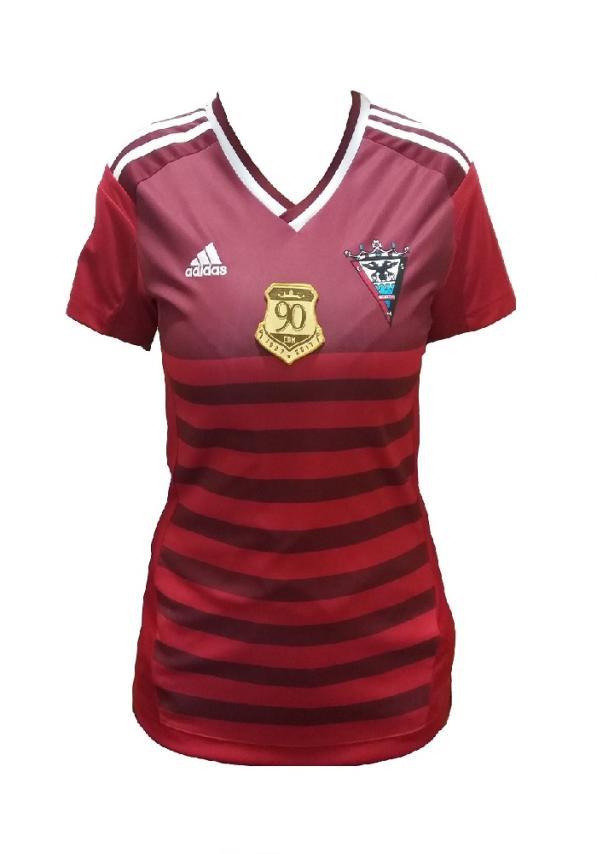 C.d. Mirandes Camiseta Oficial Adidas Roja Mujer 2016/2017