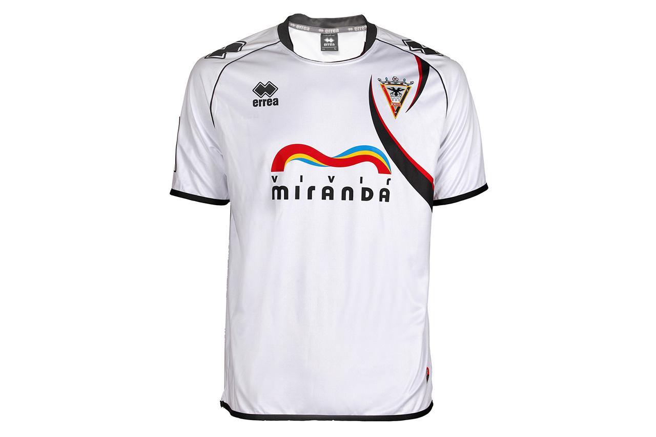 C.d. Mirandes Camiseta Oficial Blanca 14/15