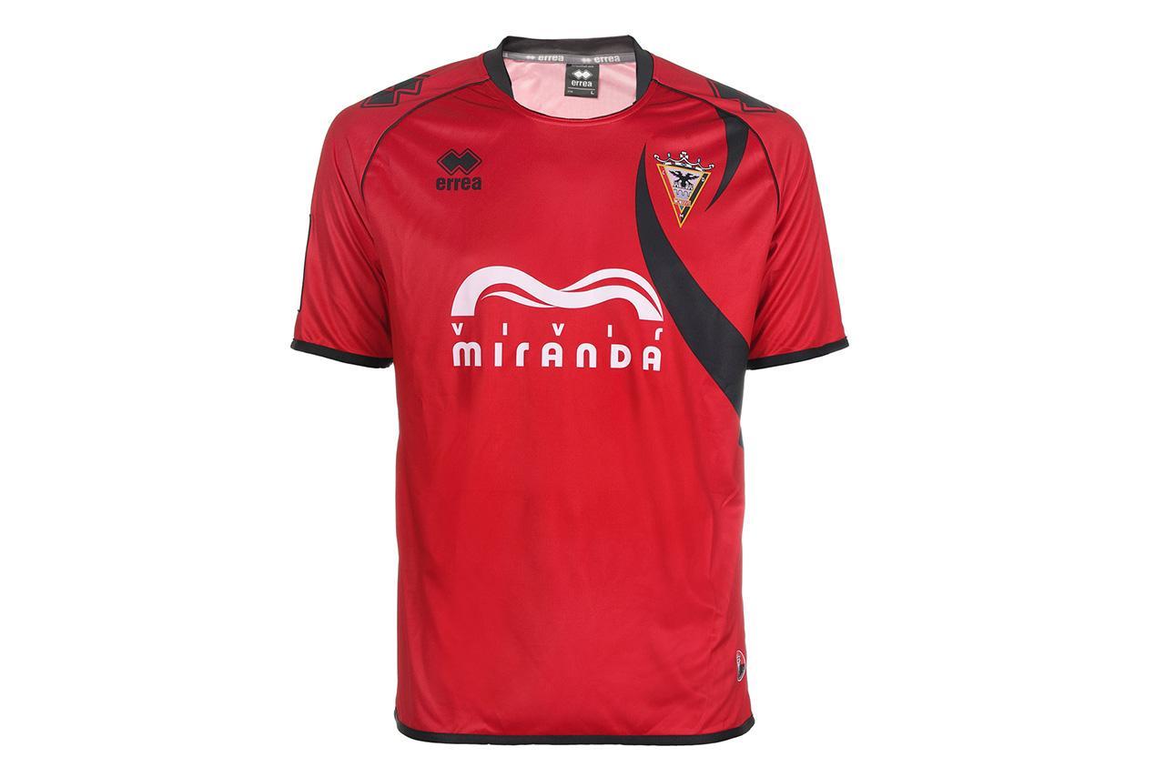 C.d. Mirandes Camiseta Oficial Roja Temporada 2014/2015