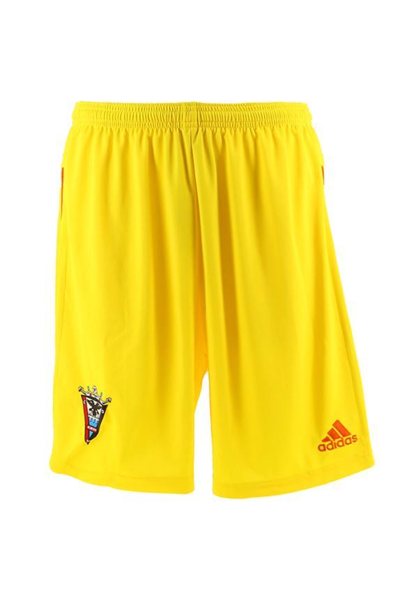 C.d. Mirandes Pantalon Oficial Adidas Portero Amarillo 2016/2017