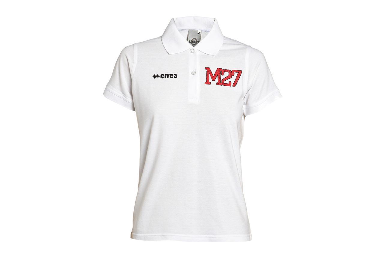 C.d. Mirandes Polo Blanco Chica M27 13/14