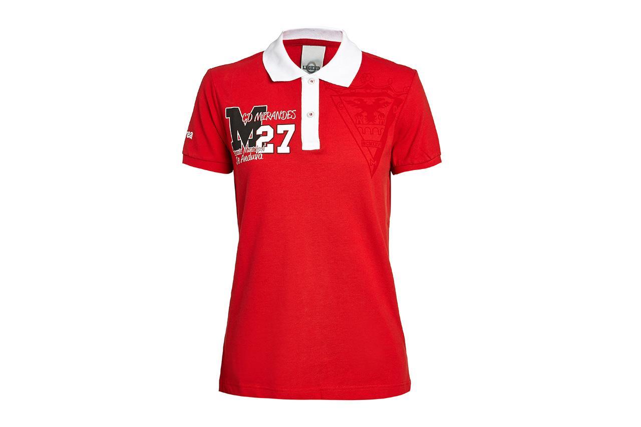 C.d. Mirandes Polo Rojo Mujer 13/14