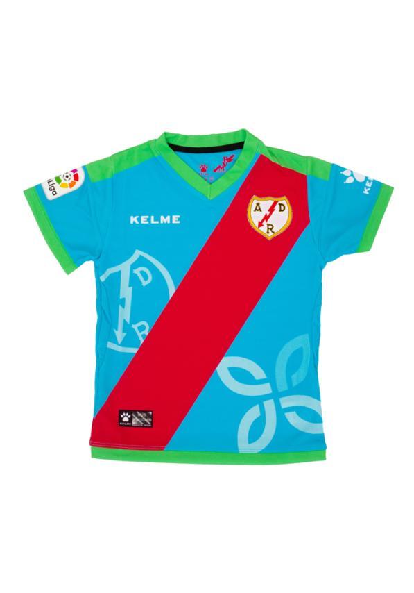 Rayo Vallecano Camiseta 3º Equip. Jr 1819 Donativo 5€