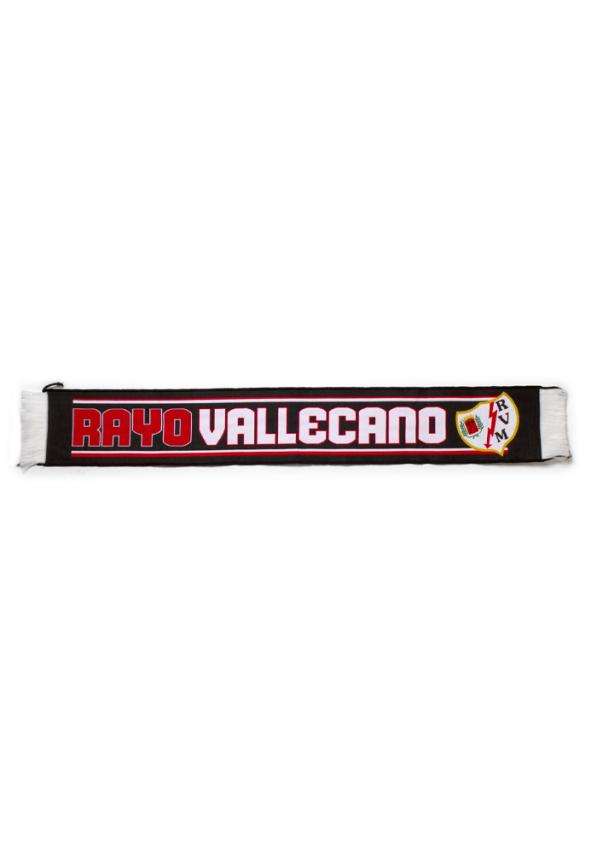 Rayo Vallecano Bufanda Negra Rayo Vallecano