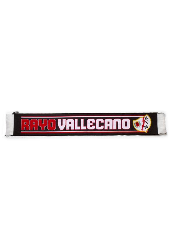 Rayo Vallecano Bufanda Negra Rayo Vallecano