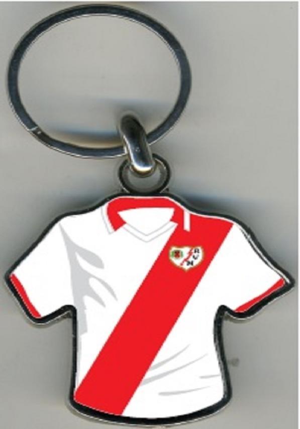 Rayo Vallecano Llavero Camiseta