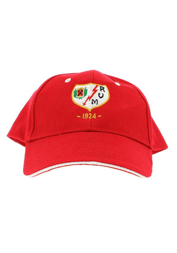 Rayo Vallecano Gorra Roja Adulto