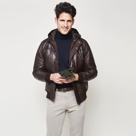 Bow Tie Hever Jacket Weekend Leather