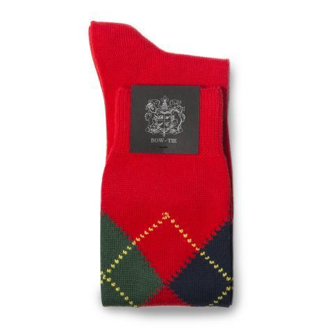 Bow Tie Socks Ix